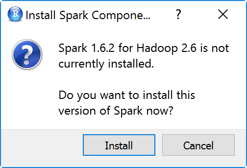 Running Apache Spark with sparklyr and R in Windows – yokekeong